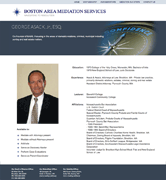 Screenshot of Boston Area Mediation.com profile page